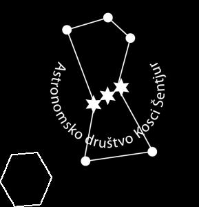 Astronomsko društvo Kosci LOGO 2